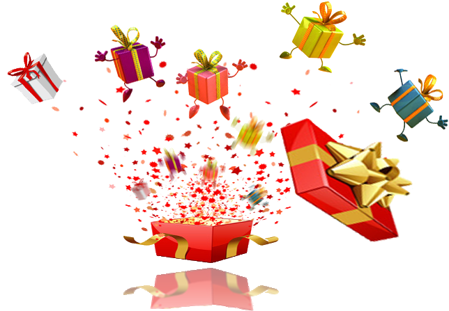 Gifts explosion